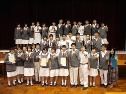 Hong Kong School Drama Festival 2009-2010 (Secondary English Category)-----Award For Outstanding Actress
