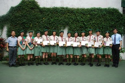 Scout Association of Hong Kong Carlton Trophy 2010 Society and Enviroment