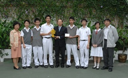 Champion of 2006 World Robot Olympiad, Hong Kong Regional Competition
