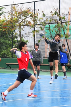 Inter-class Dodgeball Competition