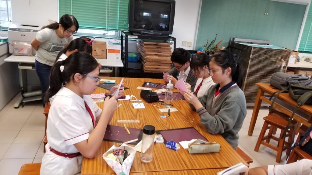 同學在導師指導下創作