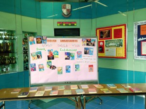 Book Exhibition during the Roald Dahl's Week
