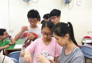 Testing water samples