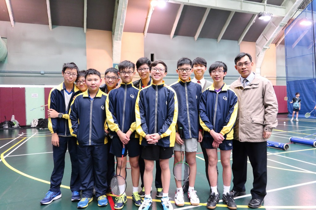 Boys B Grade Badminton Team
