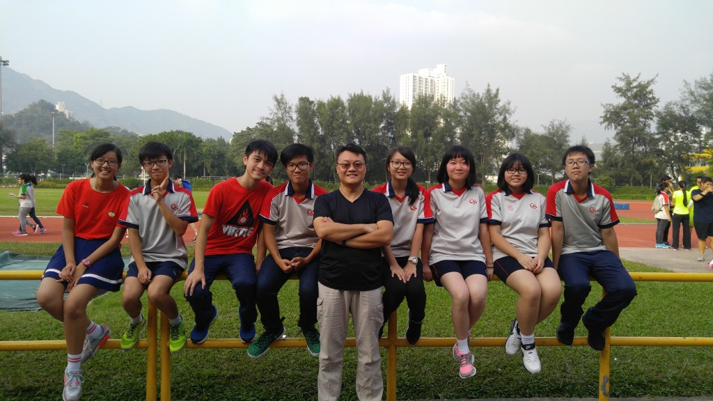 Committee Members on Sports Day