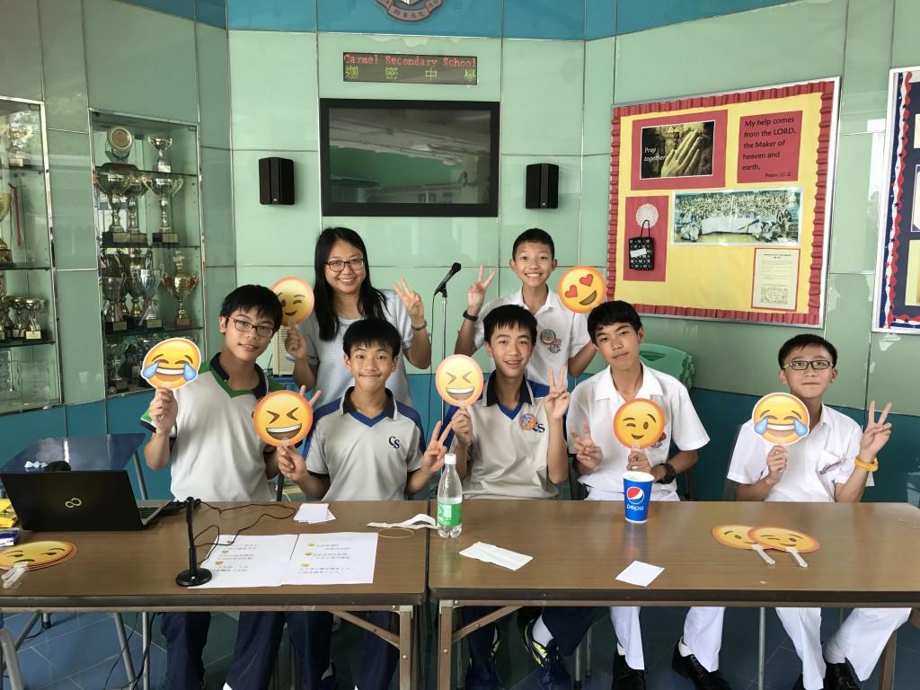 Putonghua Ambassadors Lunch Time Activities