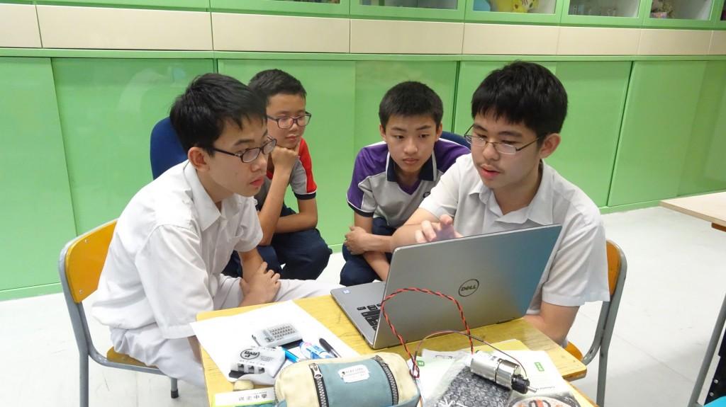 Students writing program