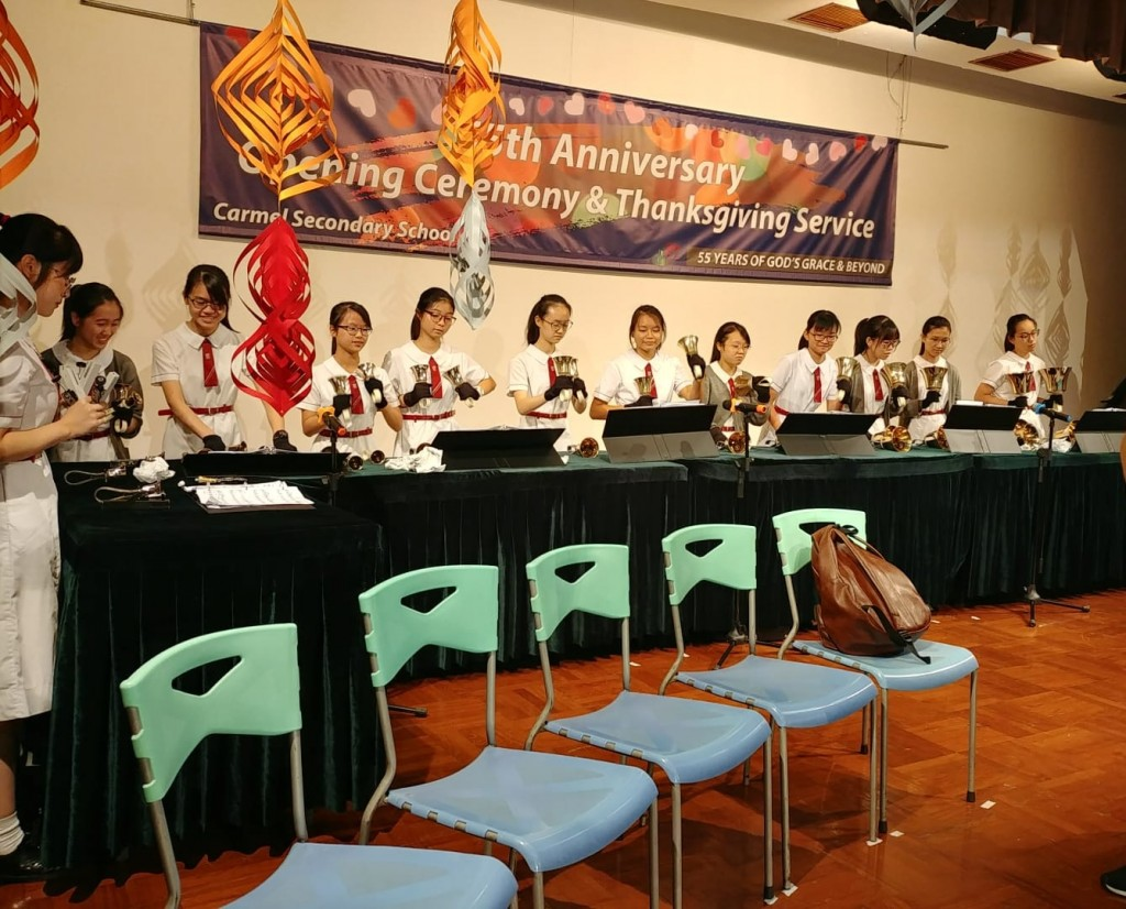The 55th Anniversary Opening Ceremony _ Thanksgiving Service Handbell rehearsal