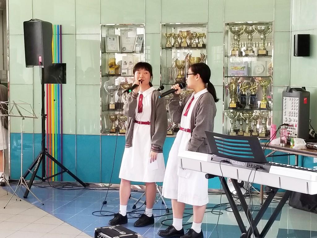 Singing harmony