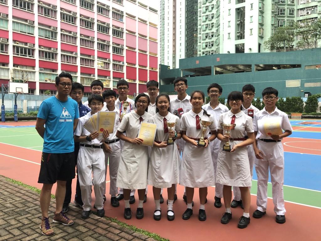 第一組別(Division 1)香港及九龍區頒獎禮