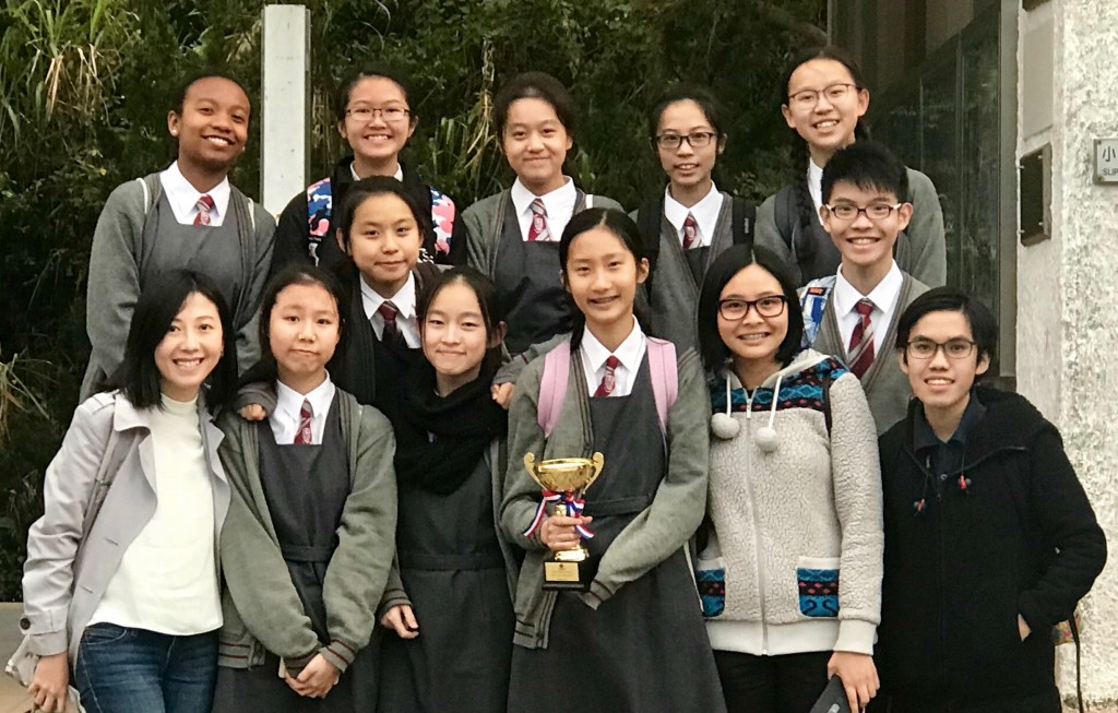 S.2 and S.3 debaters in the Junior Debating Championships